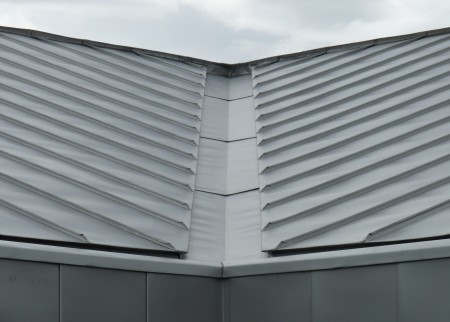 Metal Clad Roof Valley Detail
